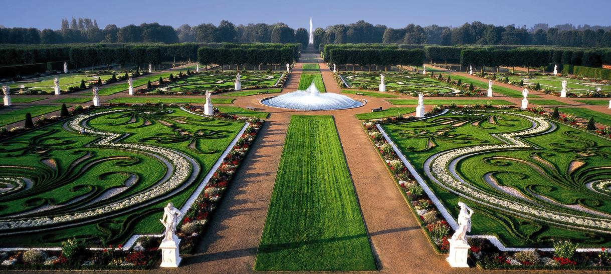 No arroyo sino mar historia en el marco de las for Jardines barrocos