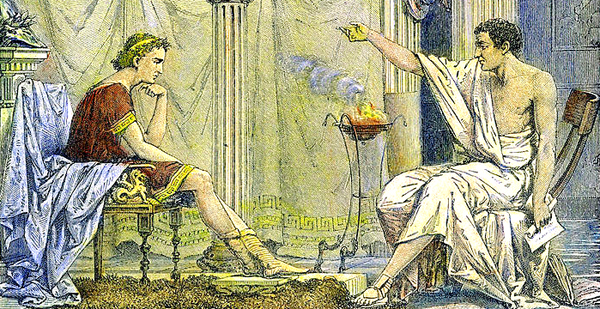 E-08 Aristóteles y Alejandro