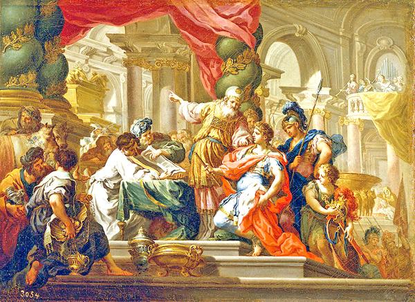 E-09 Alejandro Magno en el Templo