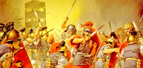 G-01 Legiones romanas en combate