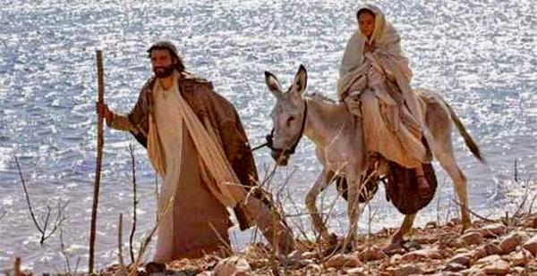 G-07 José y María hacia Belén
