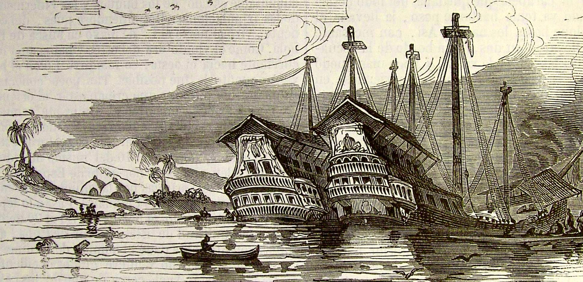 Da comienzo el Cuarto Viaje de Cristóbal Colón (9 de mayo 1502 ...